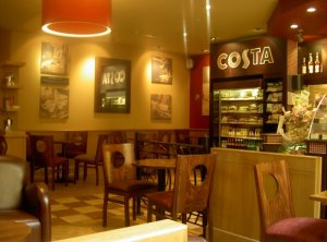 This is the best Costa in Norwich I thinks...