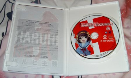 Inside the DVD case.