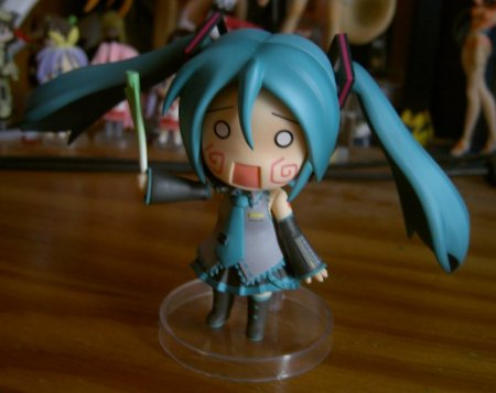 Oh, something must have scared Miku! What could it be?