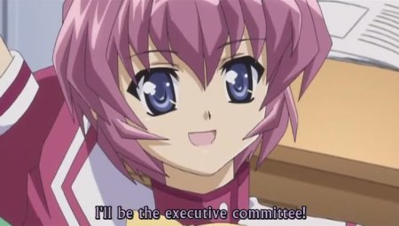 And Shiina volunteers to be one of the representatives for their class... Grrrrr....