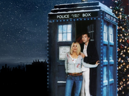 The Doctor and Rose Tyler.(Now in an alternate dimension...)
