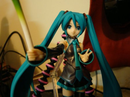 My Miku on my DVD player lol.