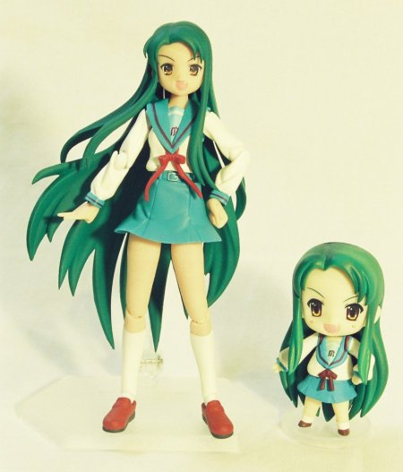Finally, my Tsuruya-san twins. I really want a 1/8 Tsuruya-san too...