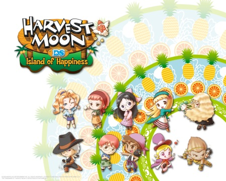 The girls and guys of Island of Hapiness.
