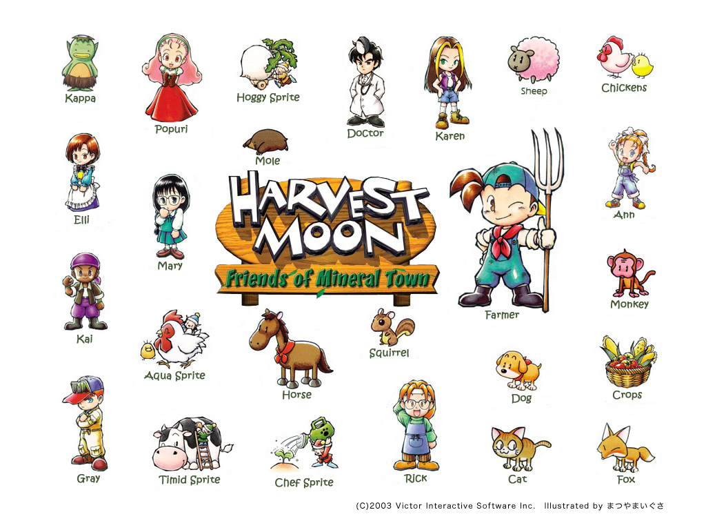 Harvest Moon Island of Happiness – Guide Book GET | Meimi132