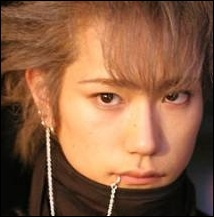 Kenichi in Nana. Cute hair. Not sure about the lip ring... but he pulls it off alright.