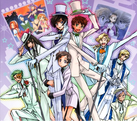 The (mostly)psycho-bishies of Code Geass. No Ohgi though...