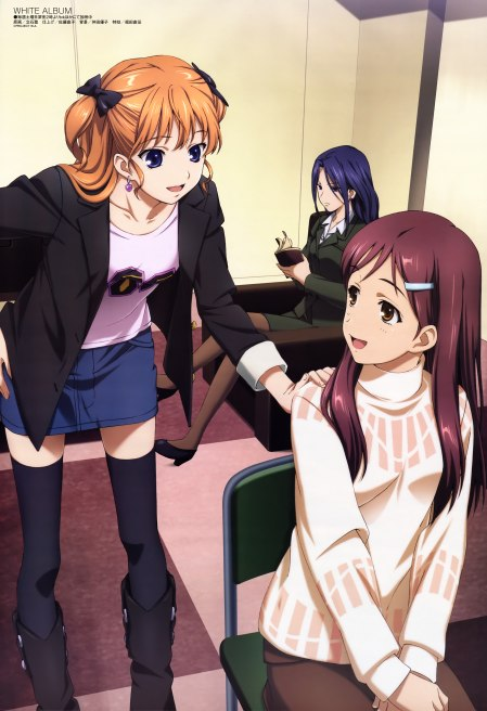 Morikawa Yuki and Ogata Rina. Plus that bitch in the back.....