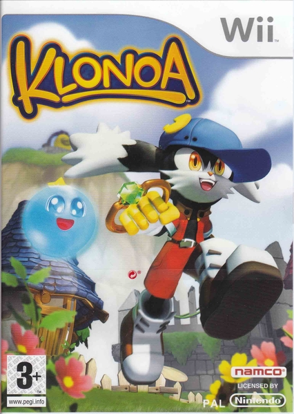 The cover, redesigned logo... Prefer the old one, but as long as Klonoa's back I don't really mind.