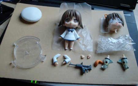 All the bits and pieces you get, and Yoshika ofc lol