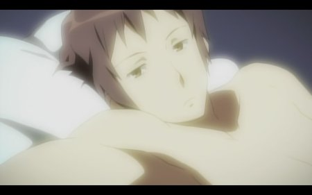 Little bit more... Who knew Kyon had a bod like this under that shirt?