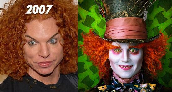 carrot top before. Carrot Top. Before his