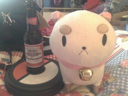 Beer and Puppycat. Geddit? GEDDIT?!?!?