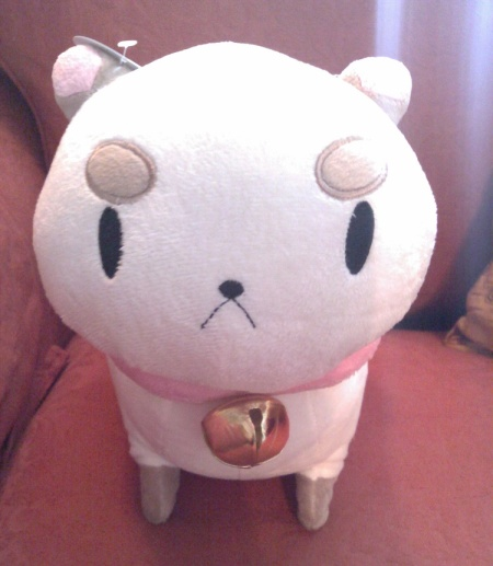 My perfect Puppycat. Squeeze his hear and listen to him sing <3