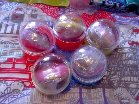 sailor moon capsules