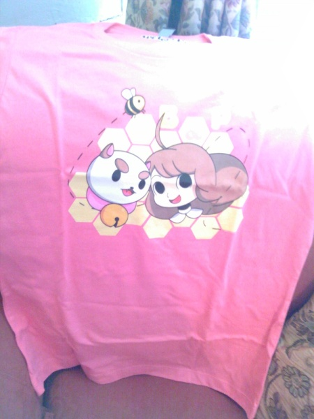 Adorable tshirt, which was pointed out as a bit misleading considering how weird/dark Bee and Puppycat gets. Still an accurate representation of the adorable.