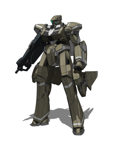 So this guy looks like a generic boxy Gundam dude... annnnnnd
