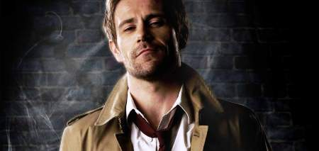 So this is the guy playing Constantine. I think this guy looks better with brown hair.
