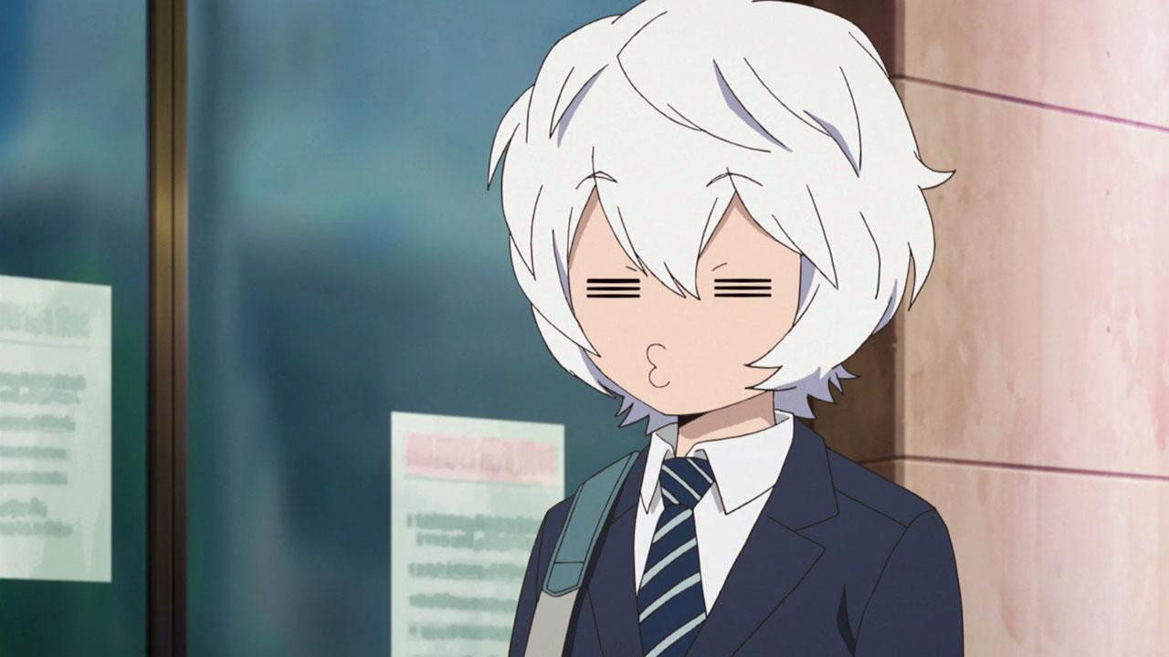 Sadistic anime face