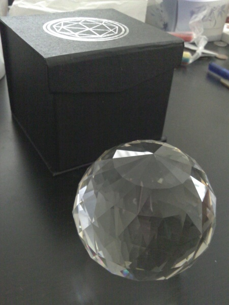 My very own Crystal ala The Crystal Maze. Which you could get via the Kickstart project. Coulda got tickets too but I'm a wuss.