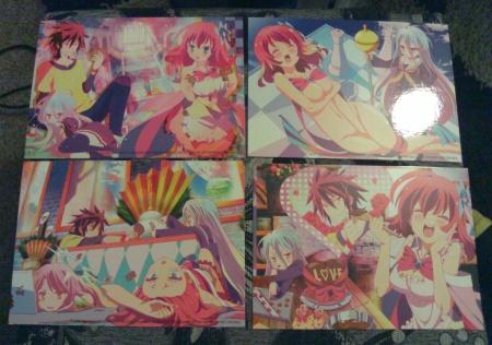 First 4 art cards...