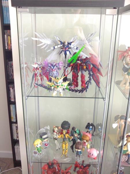 gundam shelf