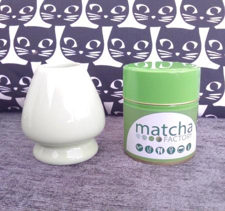 matcha factory & whisk holder