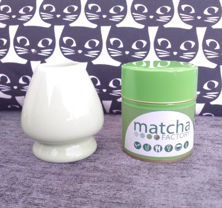 matcha factory & whisk holder
